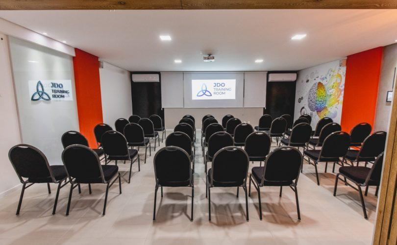 sala de treinamento JDO Training Room