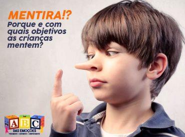Dia da mentira - porque as crianças mentem? ABC das Emoções