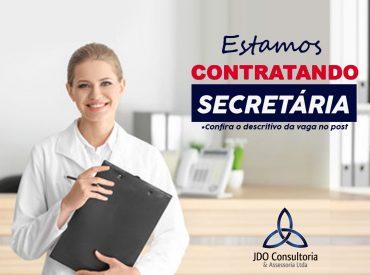 Estamos contratando - JDO Consultoria