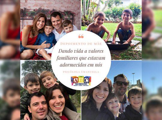 Depoimento de mãe - ABC das Emoções - JDO Consultoria