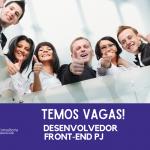 VAGA: Desenvolvedor Front-End