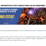Informativo JDO Consultoria 30 de dezembro